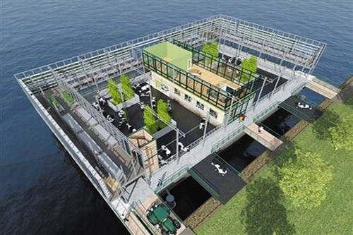 水上漂浮农场—铝板厂家再创奇迹 -第1张